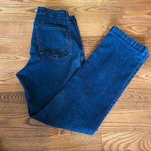 NYDJ women's straight leg jeans in size 4
